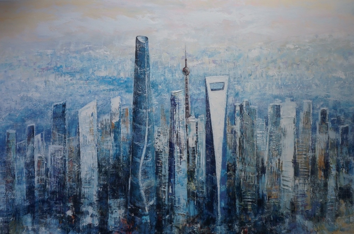 Painting of Shanghai City